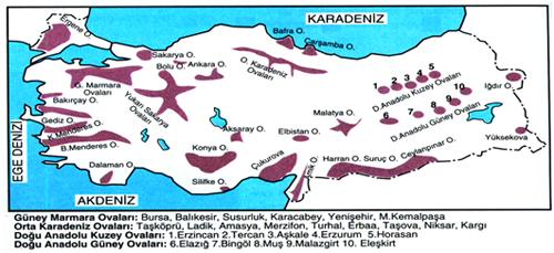 türkiyenin-ic-ovaları