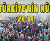 Türkiye'nin 2016 Nüfus Piramidi