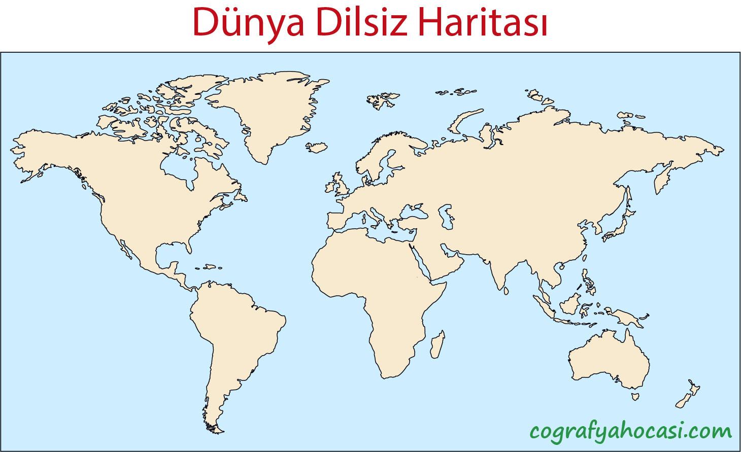 Dünya Dilsiz Haritası-3
