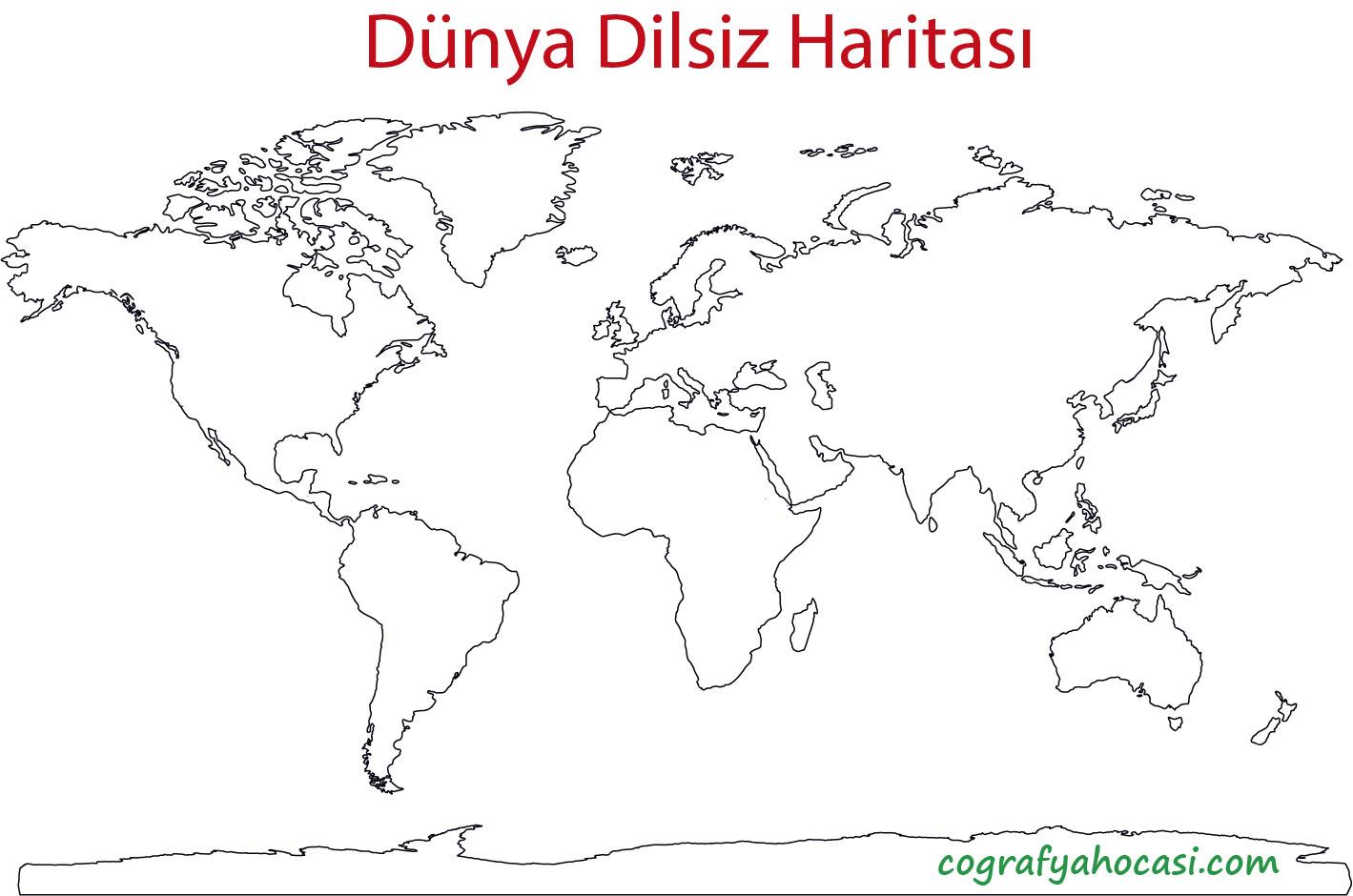 Dünya Dilsiz Haritası-4