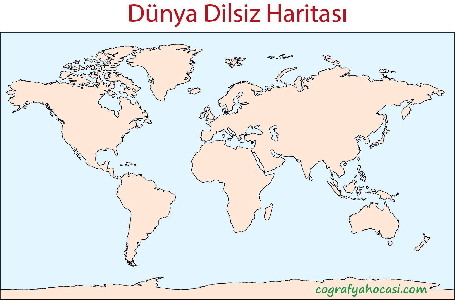 Dünya Dilsiz Haritası-5
