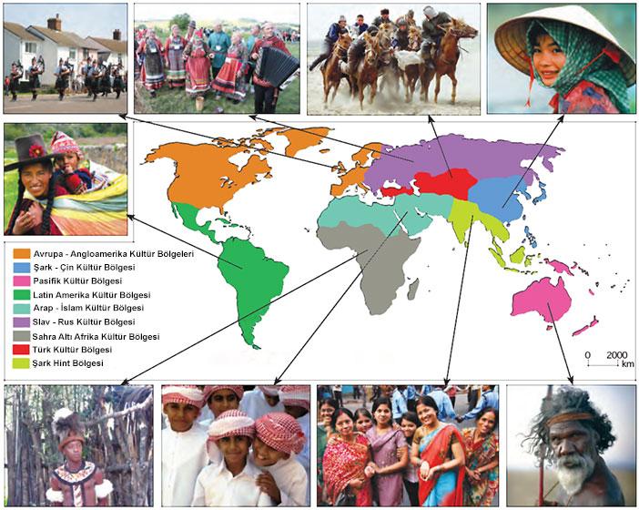 Dünya Kültür Bölgeleri