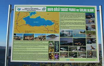 Bafa gölü tabiat parkı