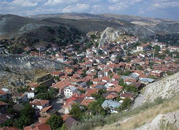 Dağ içi Köy yerleşmesi