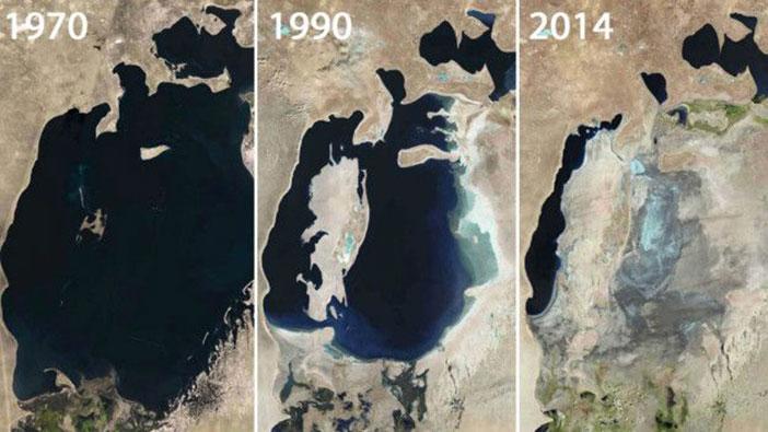 Aral Gölü Değişimi