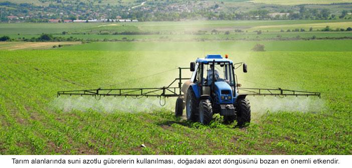 tarımda ilaçlama