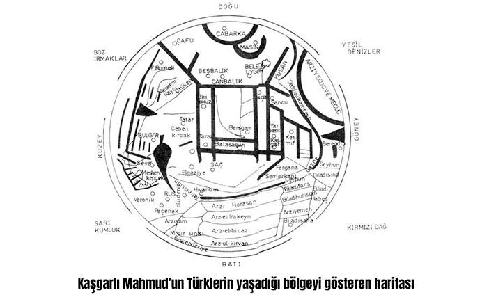 Kaşgarlı Mahmud Dünya Haritası