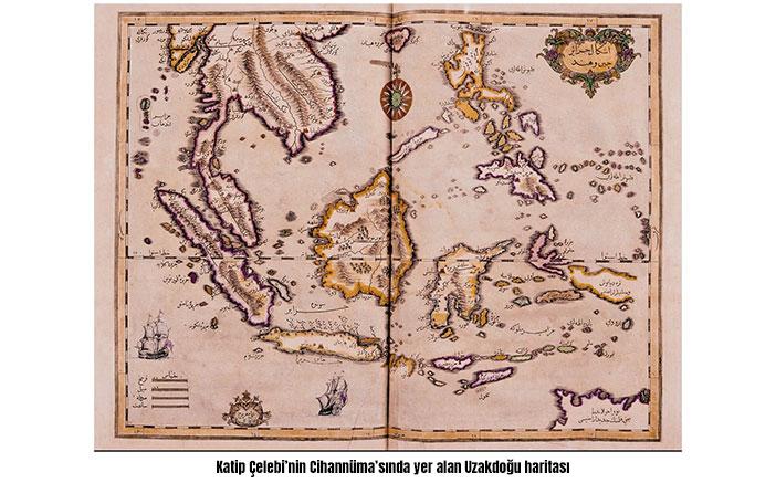 Katip Çelebi Uzakdoğu Haritası