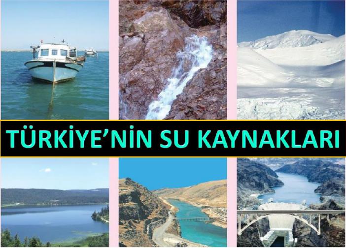 Türkiye'nin Su Kaynakları