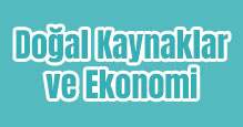 Doğal Kaynaklar ve Ekonomi Slayt