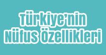 Türkiye'nin Nüfus Özellikleri Slayt
