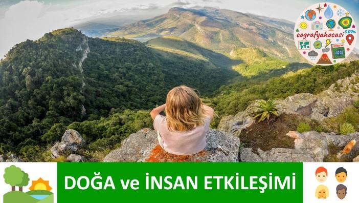 Coğrafya, Doğa ve İnsan