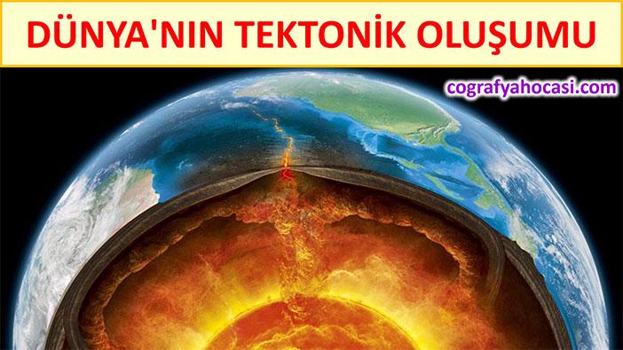 Dünya'nın Tektonik Oluşumu slayt