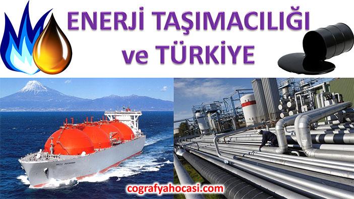 Enerji Taşımacılığı ve Türkiye Slayt