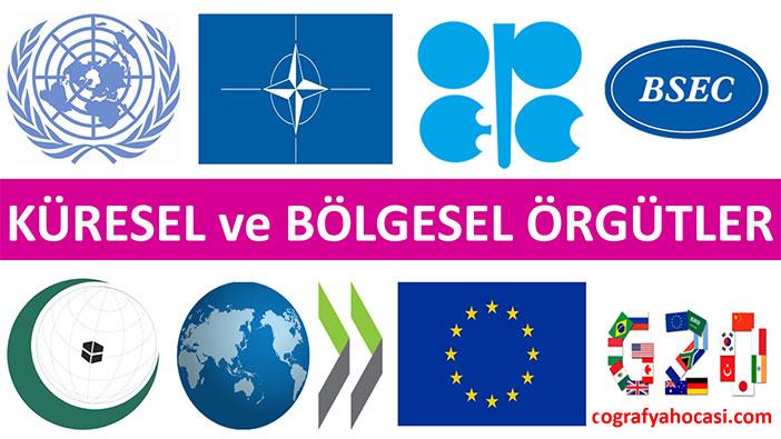 Küresel ve Bölgesel Örgütler Slayt