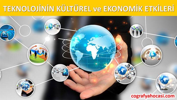 Teknolojinin Kültürel ve Ekonomik Etkileri Slayt
