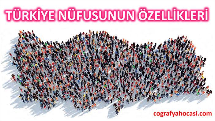 Türkiye Nüfusunun Özellikleri slayt