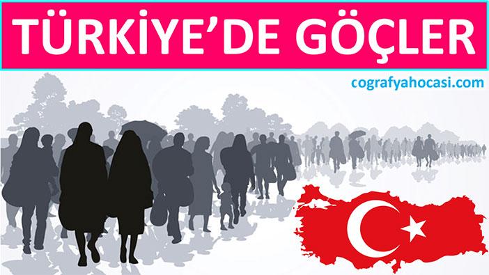 Türkiye'de Göçler slayt