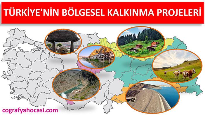 Türkiye'nin İşlevsel Bölgeleri ve Kalkınma Projeleri Slayt