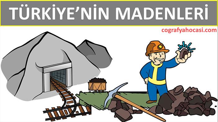 Türkiye'nin Madenleri
