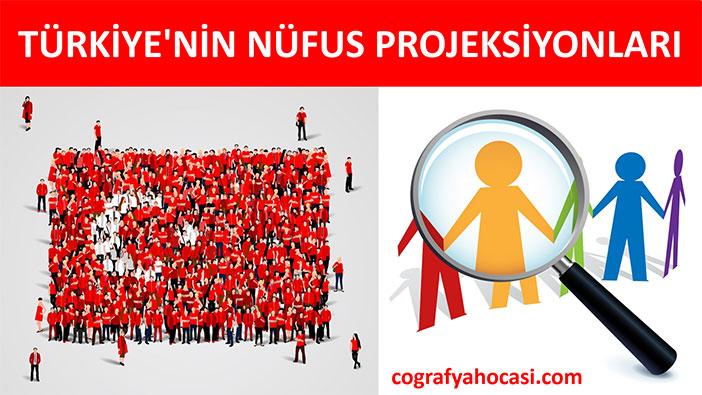 Türkiye'nin Nüfus Projeksiyonları Slayt