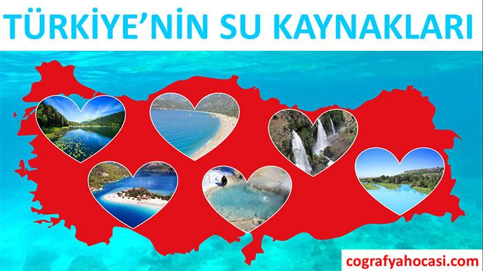 Türkiye'nin Su Kaynakları slayt