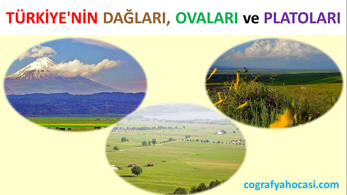 Türkiye'nin Yer Şekilleri