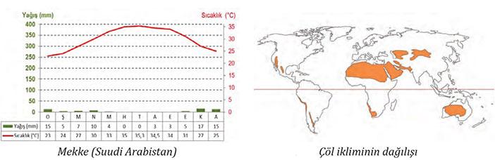 Çöl İklimi nedir