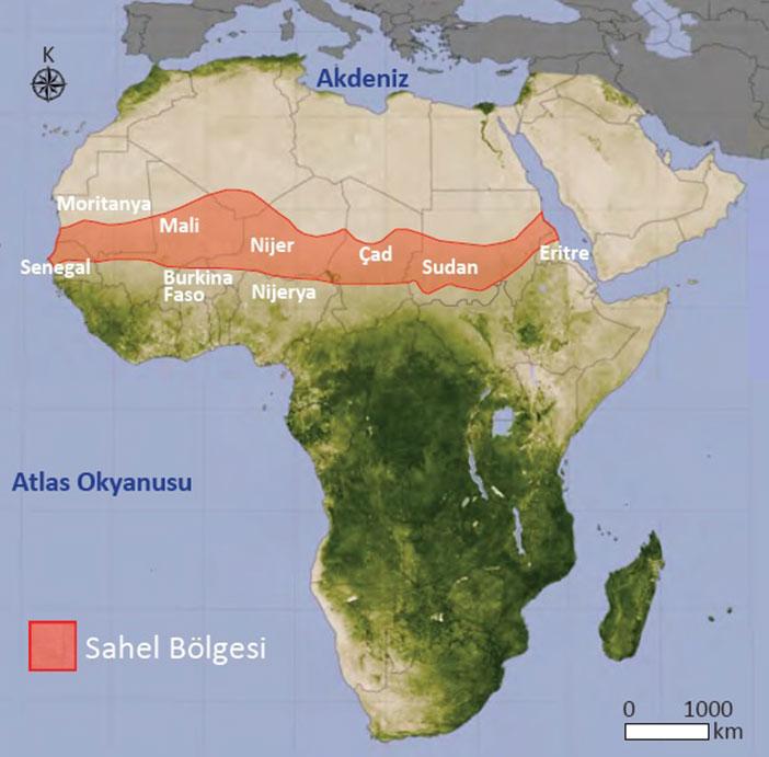 Sahel Bölgesi nedir