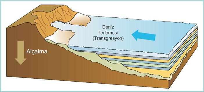 Transgresyon (Deniz ilerlemesi) nedir