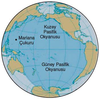 Büyük Okyanus Haritası