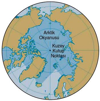 Kuzey Okyanusu Haritası