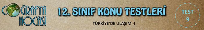Türkiye'de Ulaşım Testi