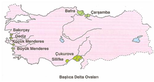 Türkiye'nin Ovaları