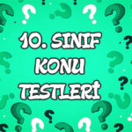 Türkiye'nin Toprak Tipleri Konu Testi