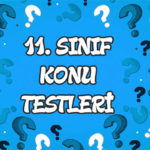 Türkiye'nin Nüfus Politikaları Konu Testi
