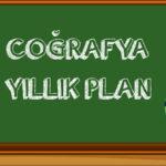 2020 2021 Coğrafya Yıllık Planlar